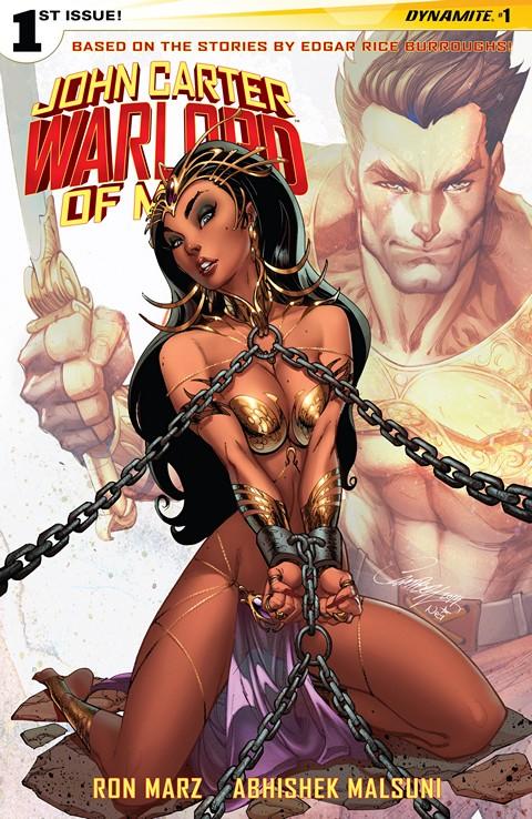 John Carter Warlord Of Mars Vol. 2 #1 – 14 + TPB Vol. 1 – 2 (2014-2016)