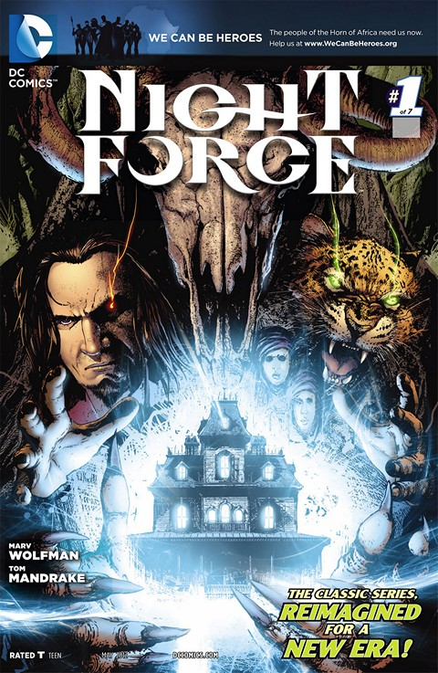 Night Force #1 – 7 Free Download