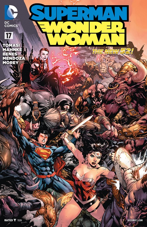Superman-Wonder Woman #17 Free Download