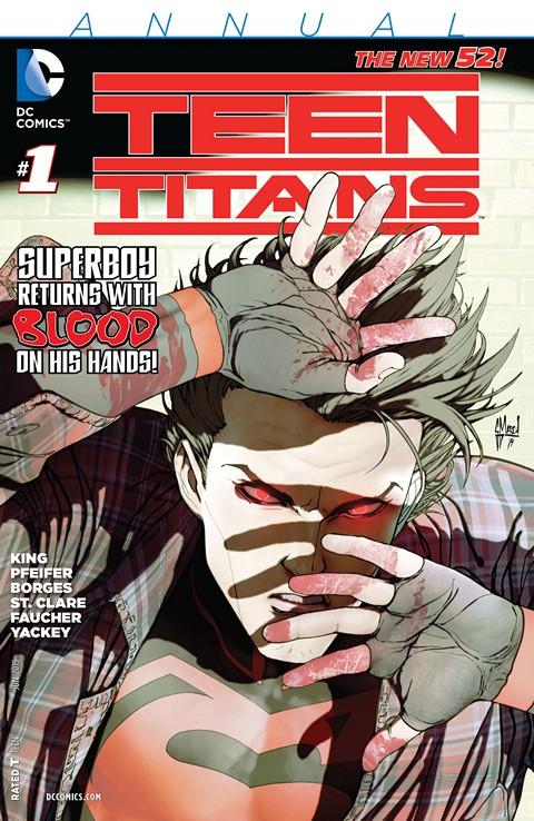 Teen Titans Vol 5 Annual #1 Free Download