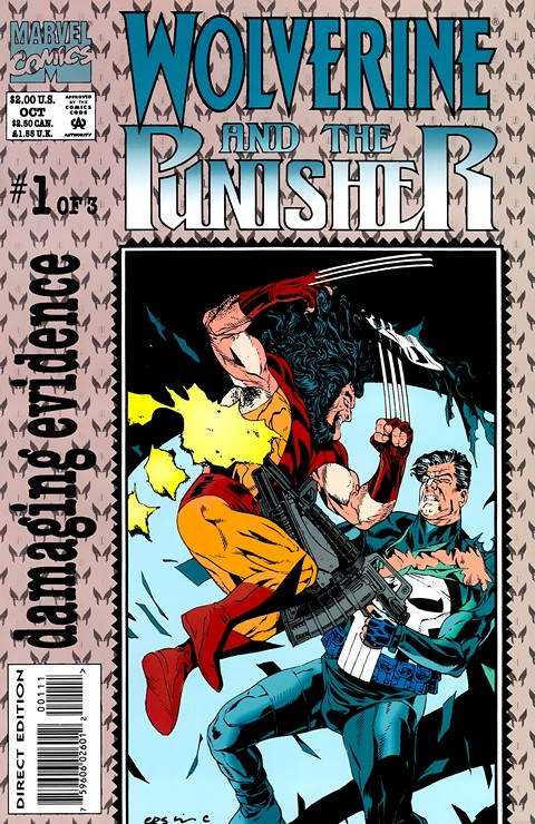 Wolverine & The Punisher – Damaging Evidence #1 – 3