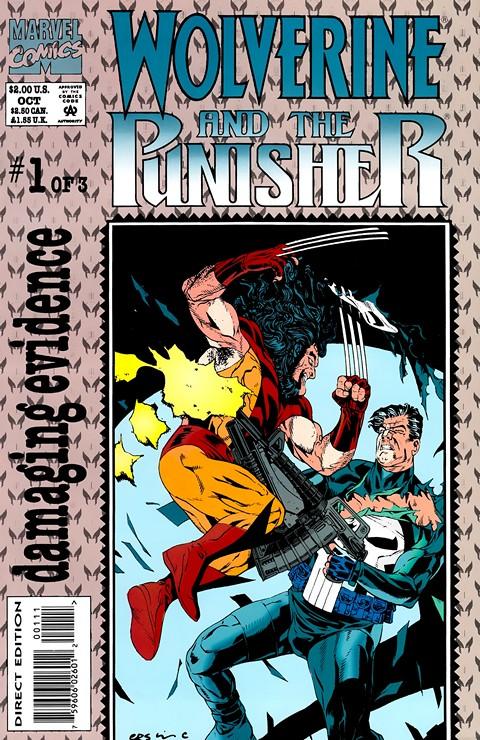 Wolverine & The Punisher – Damaging Evidence #1 – 3