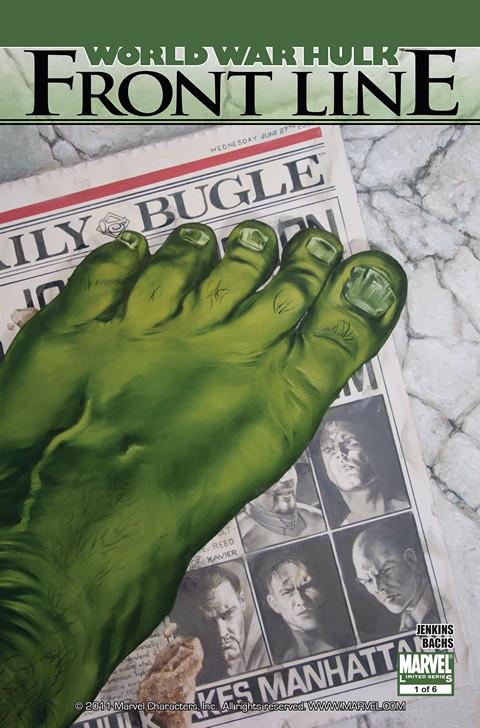 World War Hulk – Front Line #1 – 6 Free Download