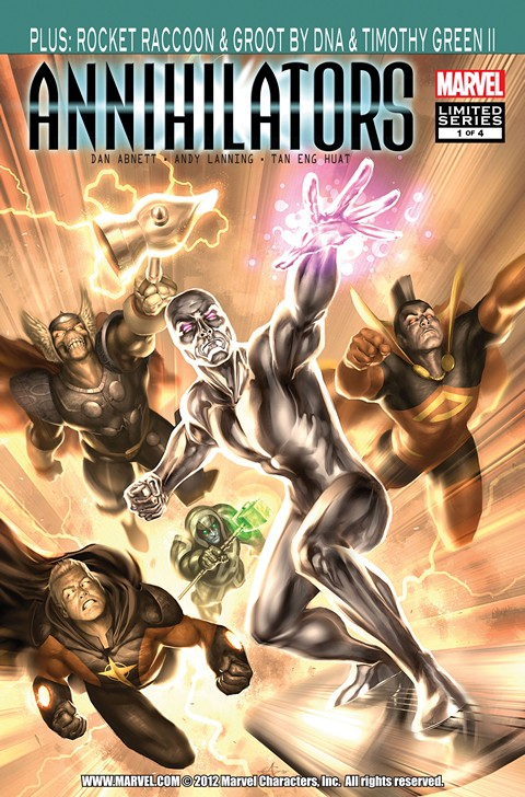 Annihilators #1 – 4