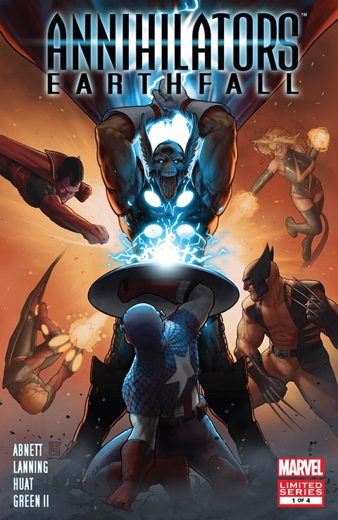 Annihilators – Earthfall #1 – 4