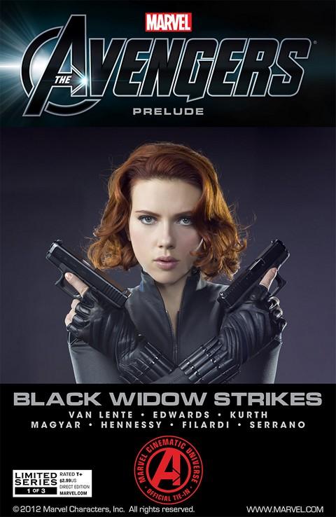 Avengers – Black Widow Strikes #1 – 3 (2012)