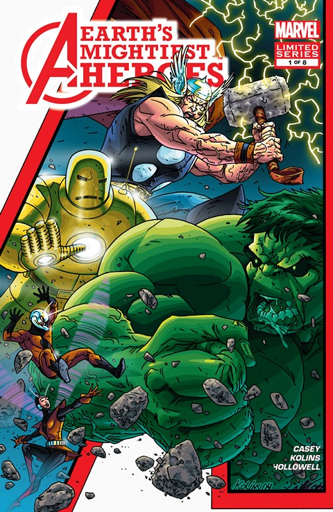 Avengers – Earth's Mightiest Heroes #1 – 8