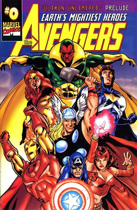 Avengers Vol. 3 #0 – 84 + 500 – 503