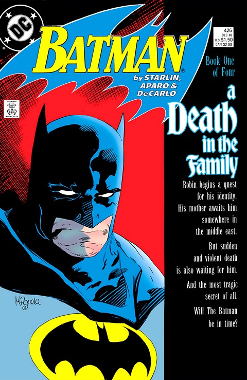 Batman a death in the family 1 4 getcomics fandeluxe Images