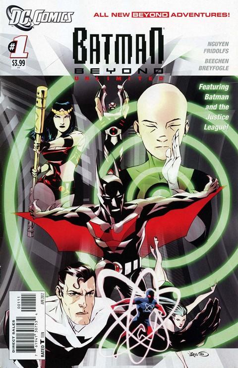 Batman Beyond Unlimited #1 – 18 (2012-2013)