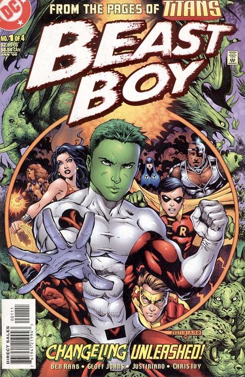 Beast Boy #1 – 4