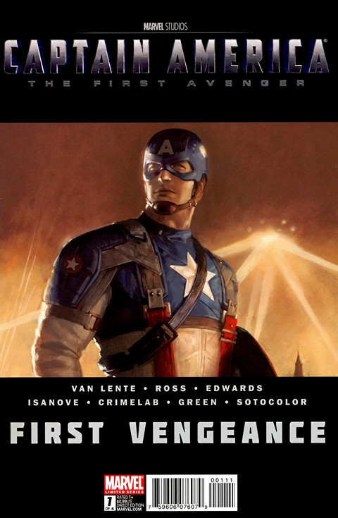 Captain America – First Vengeance #1 – 4