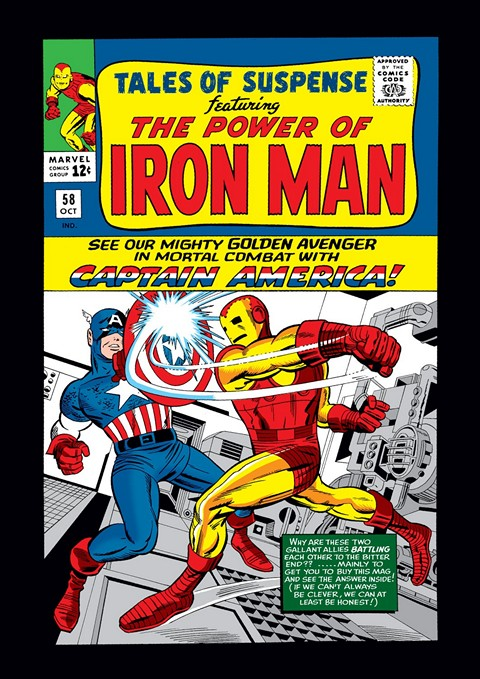 Captain America – Tales of Suspense #58 – 99 (1964-1968)