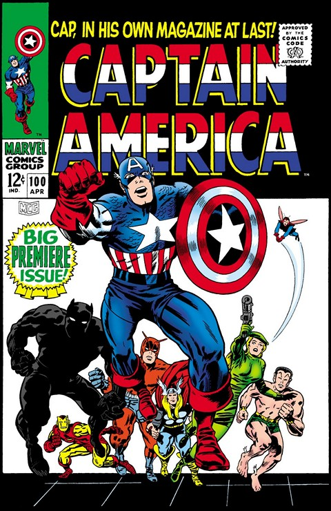 Captain America Vol. 1 #100 – 454 + Annuals & Extras
