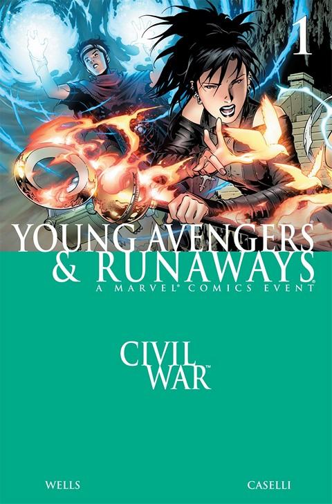 Civil War – Young Avengers & Runaways #1 – 4