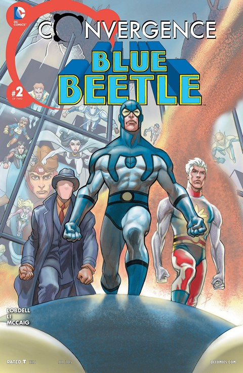Convergence – Blue Beetle #2
