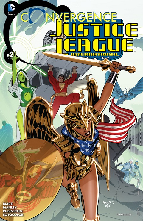 Convergence – Justice League International #2