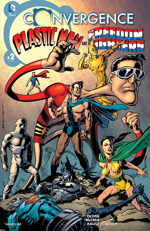 Convergence – Plastic Man and the Freedom Fighters (2015) #2