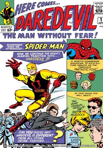 Daredevil Vol. 1 #1 – 380 + Annuals (1964-1998)