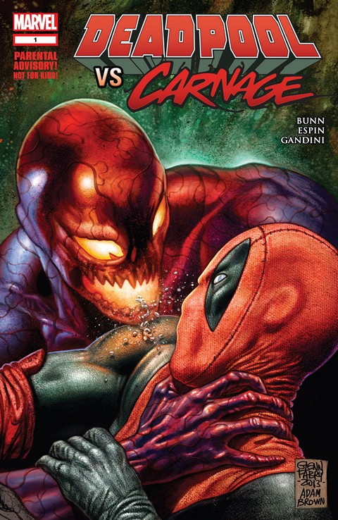 Deadpool Vs Carnage #1 – 4 + TPB (2014-2015)