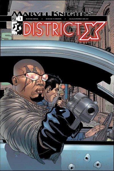 District X #1 – 14 + TPBs (2004-2005 + 2017)