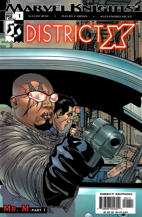 District X #1 – 14 (2004-2005)