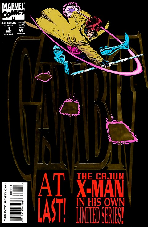 Gambit Vol. 1 – 5 + Extras (Collection) (1993-2013)