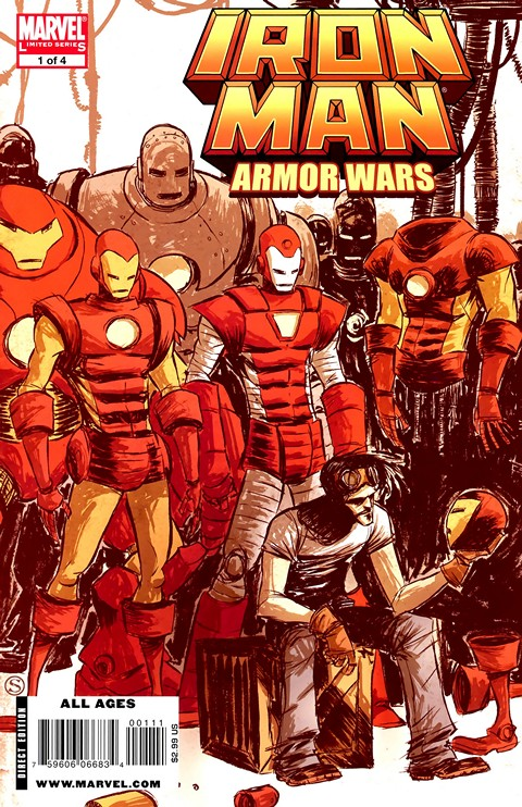 Iron Man – Armor Wars #1 – 4 (2009)