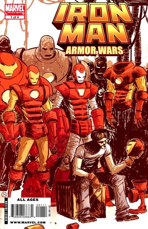 Iron Man – Armor Wars #1 – 4 (2009)
