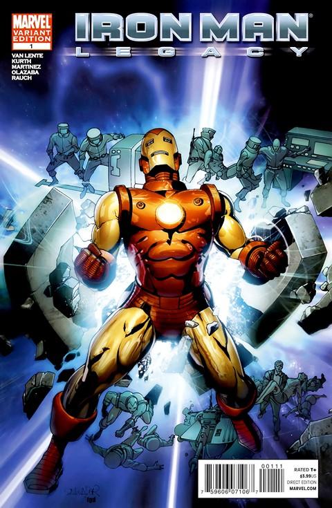Iron Man – Legacy #1 – 11