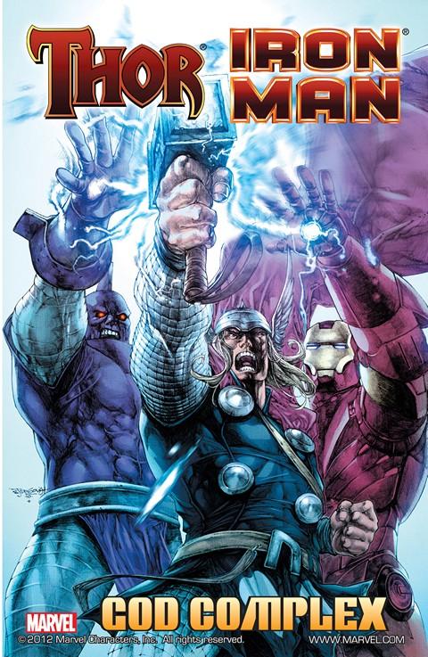 Iron Man-Thor – God Complex #1 – 4 + TPB (2011)