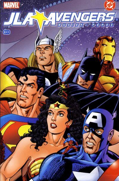 JLA-Avengers #1 – 4