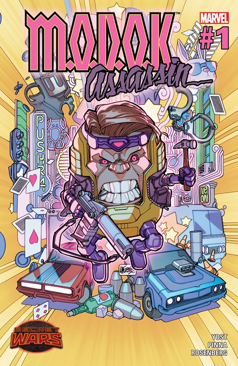 M.O.D.O.K. Assassin #1