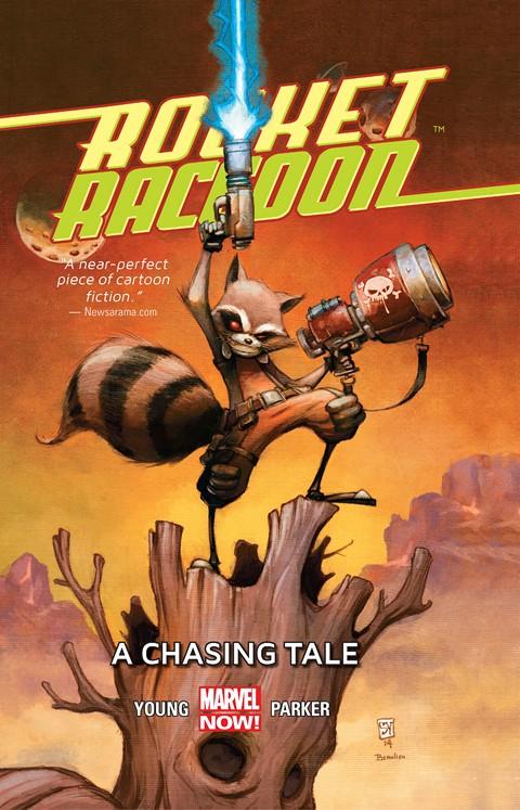 Rocket Raccoon Vol. 1 – A Chasing Tale