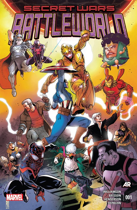 Secret Wars – Battleworld #1