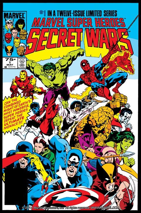 Secret Wars I #1 – 12 (1984-1985)