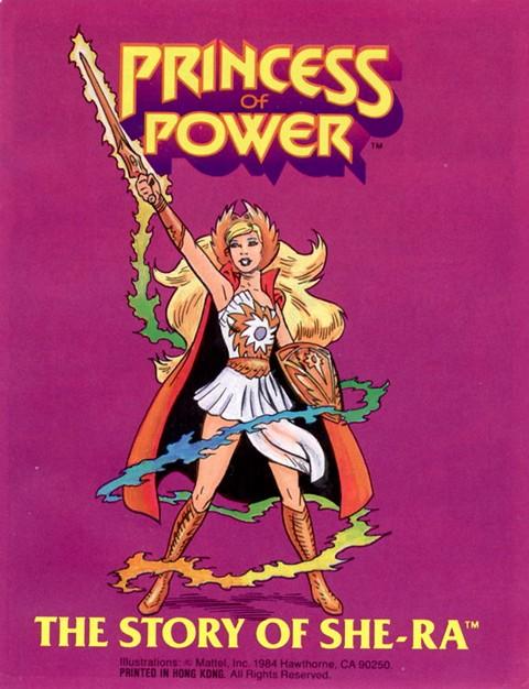 She-Ra Princess of Power Mini Comics