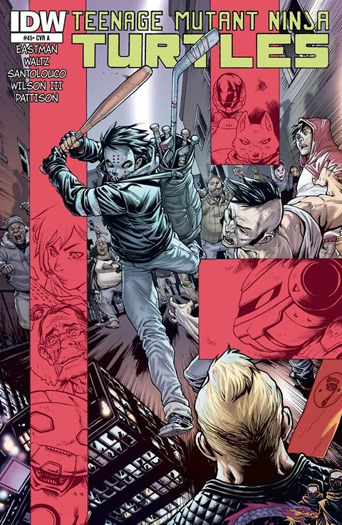 Teenage Mutant Ninja Turtles #1 – 45 + Annual