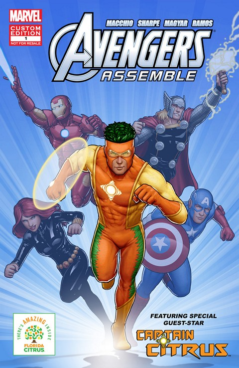 The Avengers Featuring Captain Citrus in Choose Wisely #1