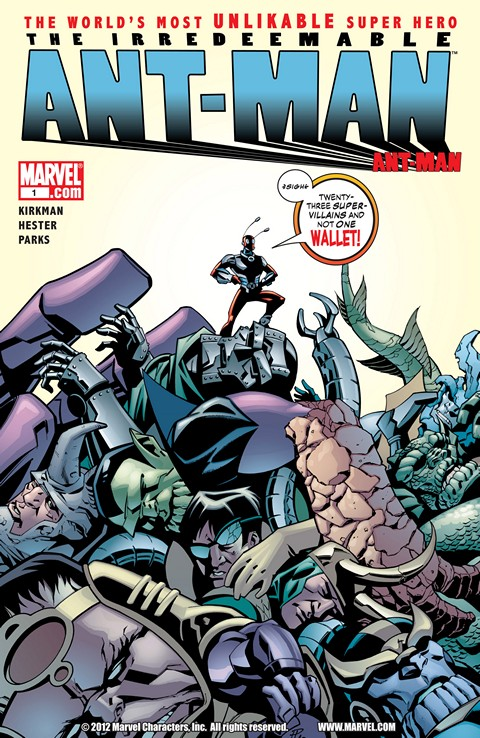 The Irredeemable Ant-Man #1 – 12