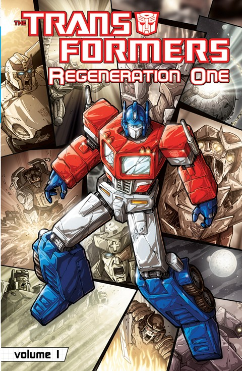 The Transformers – Regeneration One Vol. 1 – 4 + Extra
