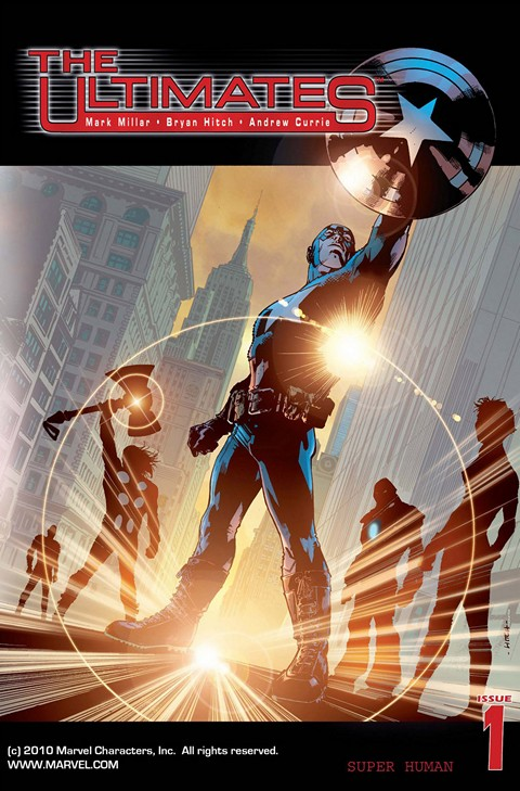 The Ultimates Vol. 1 – 3 + Ultimate Comics The Ultimates