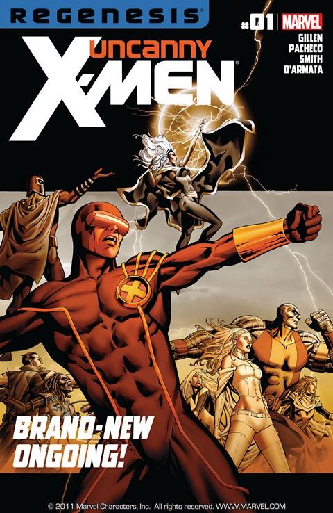 Uncanny X-Men Vol. 2 #1 – 20