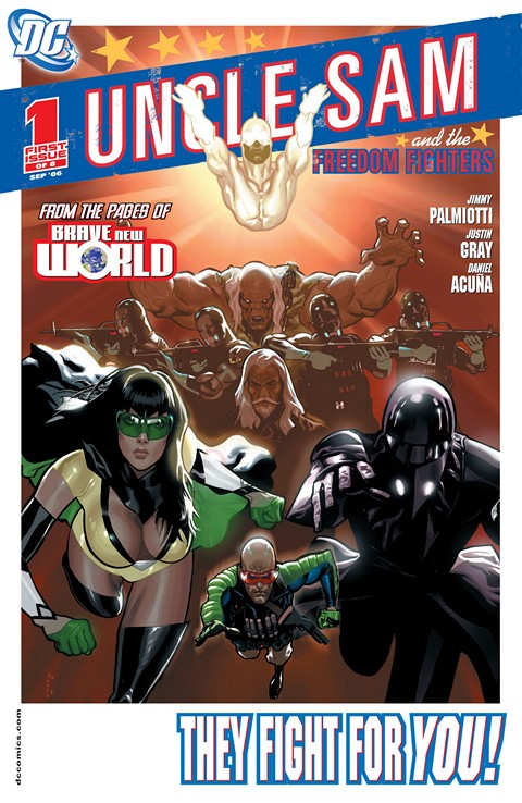 Uncle Sam and the Freedom Fighters Vol. 1 #1 – 8