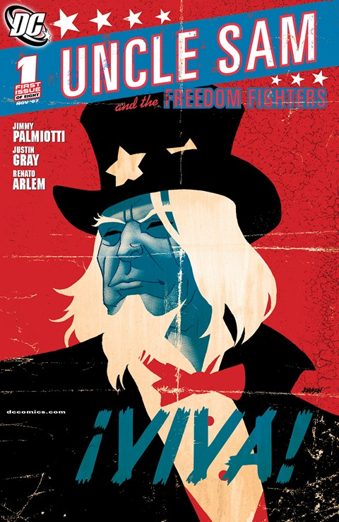 Uncle Sam and the Freedom Fighters Vol. 2 #1 – 8 (2007-2008)