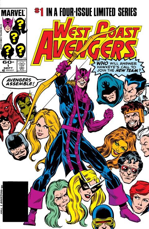 West Coast Avengers #1 – 4
