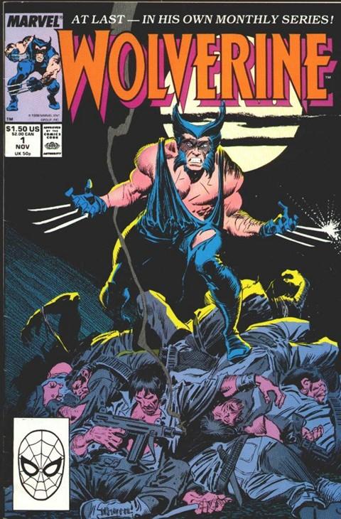 Wolverine Vol. 2 #1 – 189 + Extras