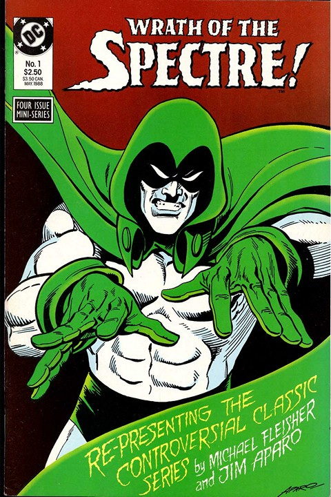 Wrath of the Spectre #1 – 4