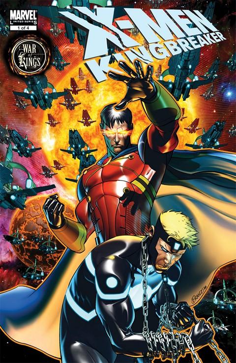 X-Men – Kingbreaker #1 – 4 (2009)