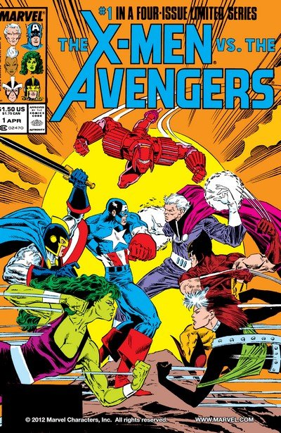 X-Men vs. The Avengers #1 – 4 (1987)